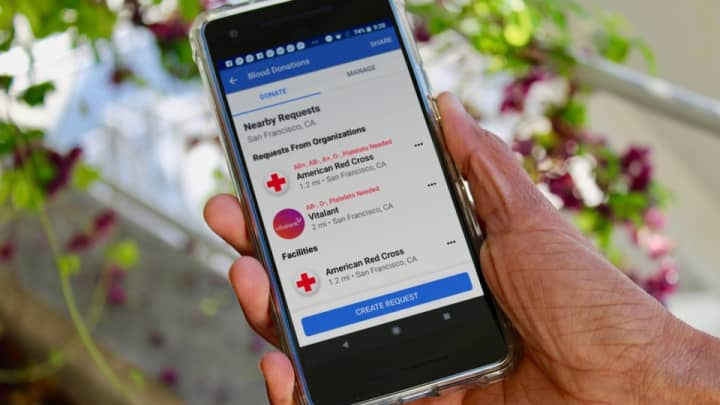 Facebook has a new tool that helps you donate blood, here's how to use it