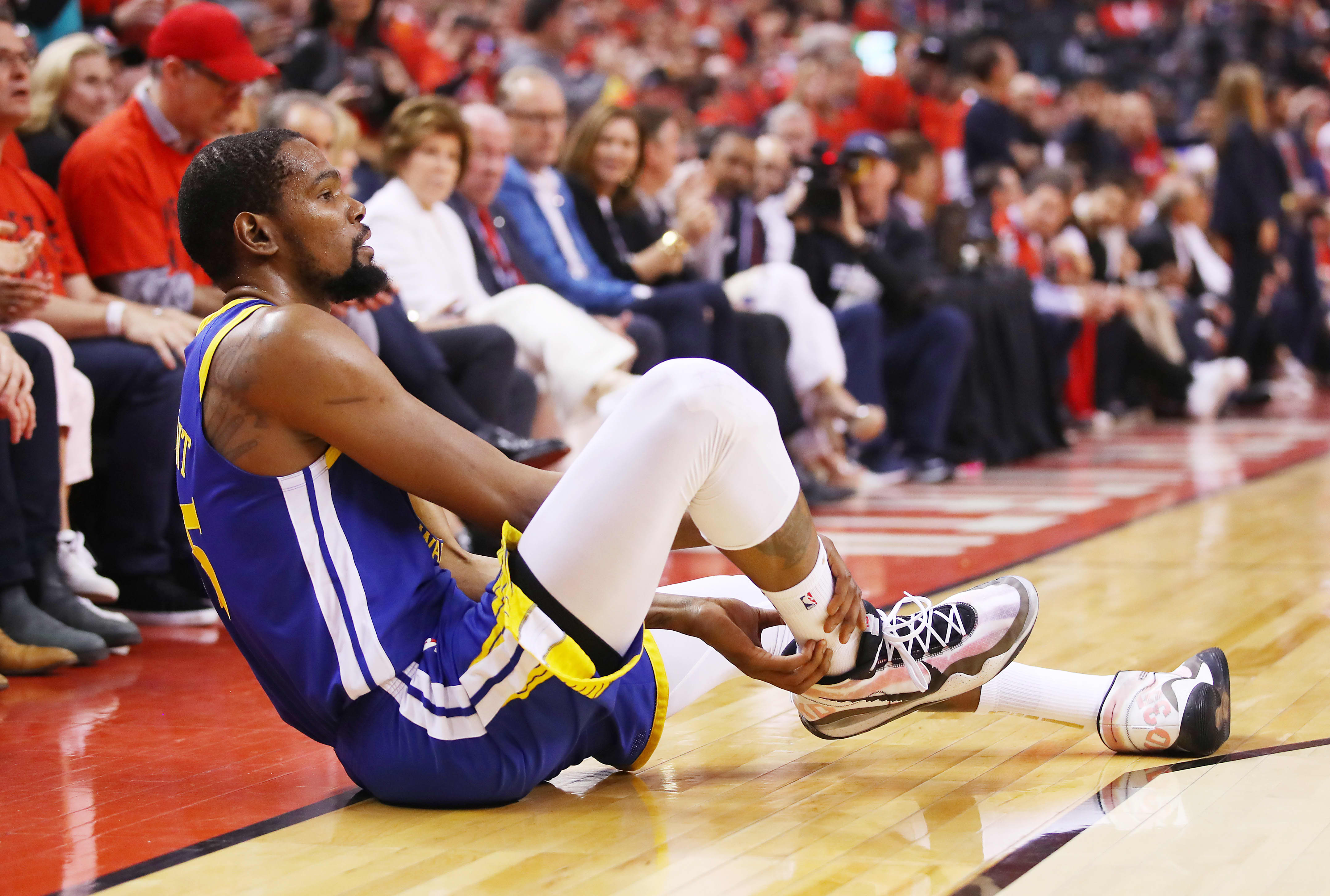 Kevin Durant's injury is not only changing the potential makeup of the NBA, it's moving stocks