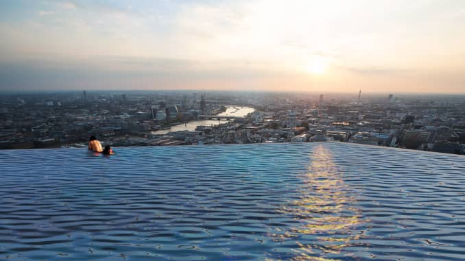 Infinity London\'s 360-degree rooftop infinity pool will cost ...