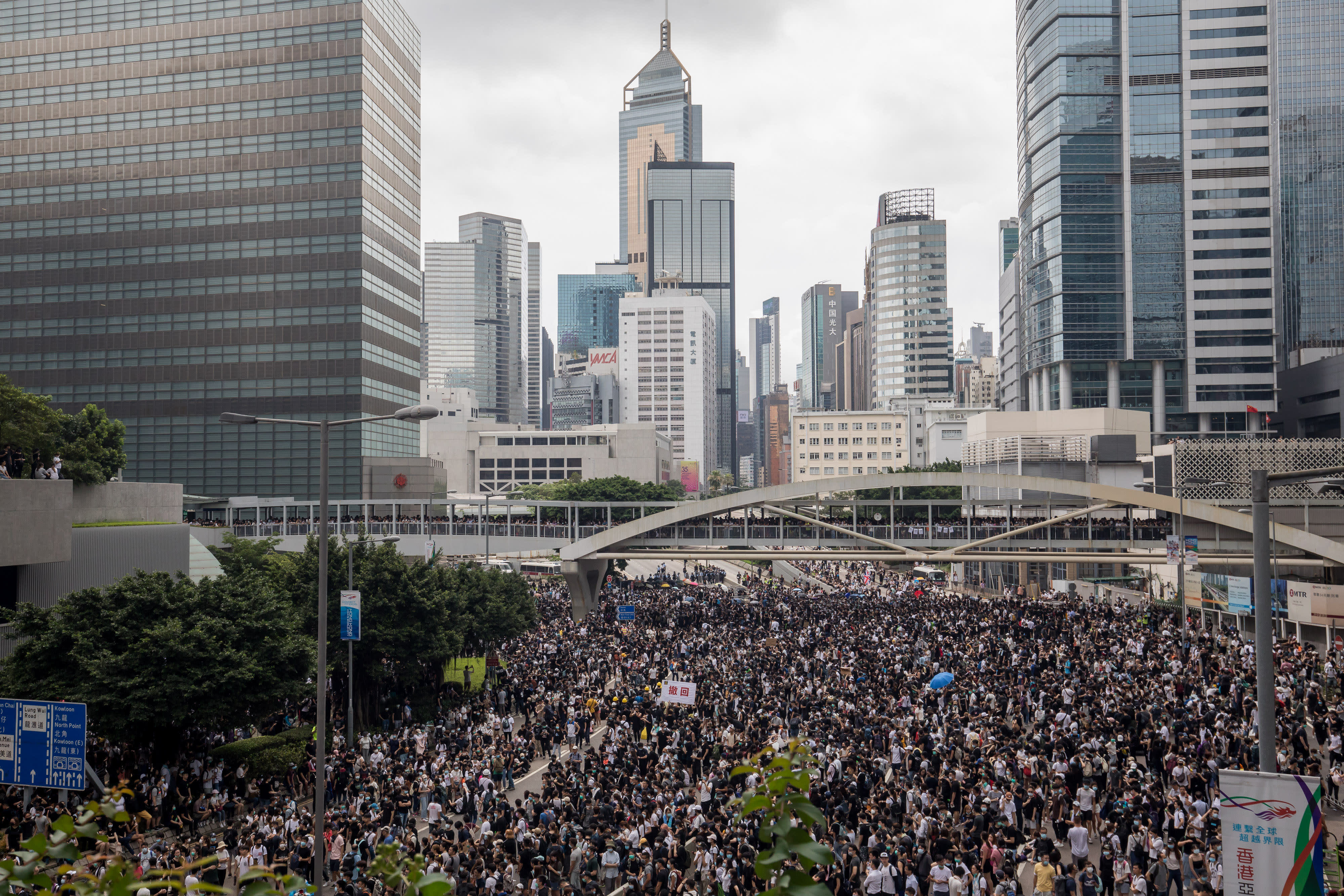 Hong Kong extradition law could jeopardize special economic agreement with the US