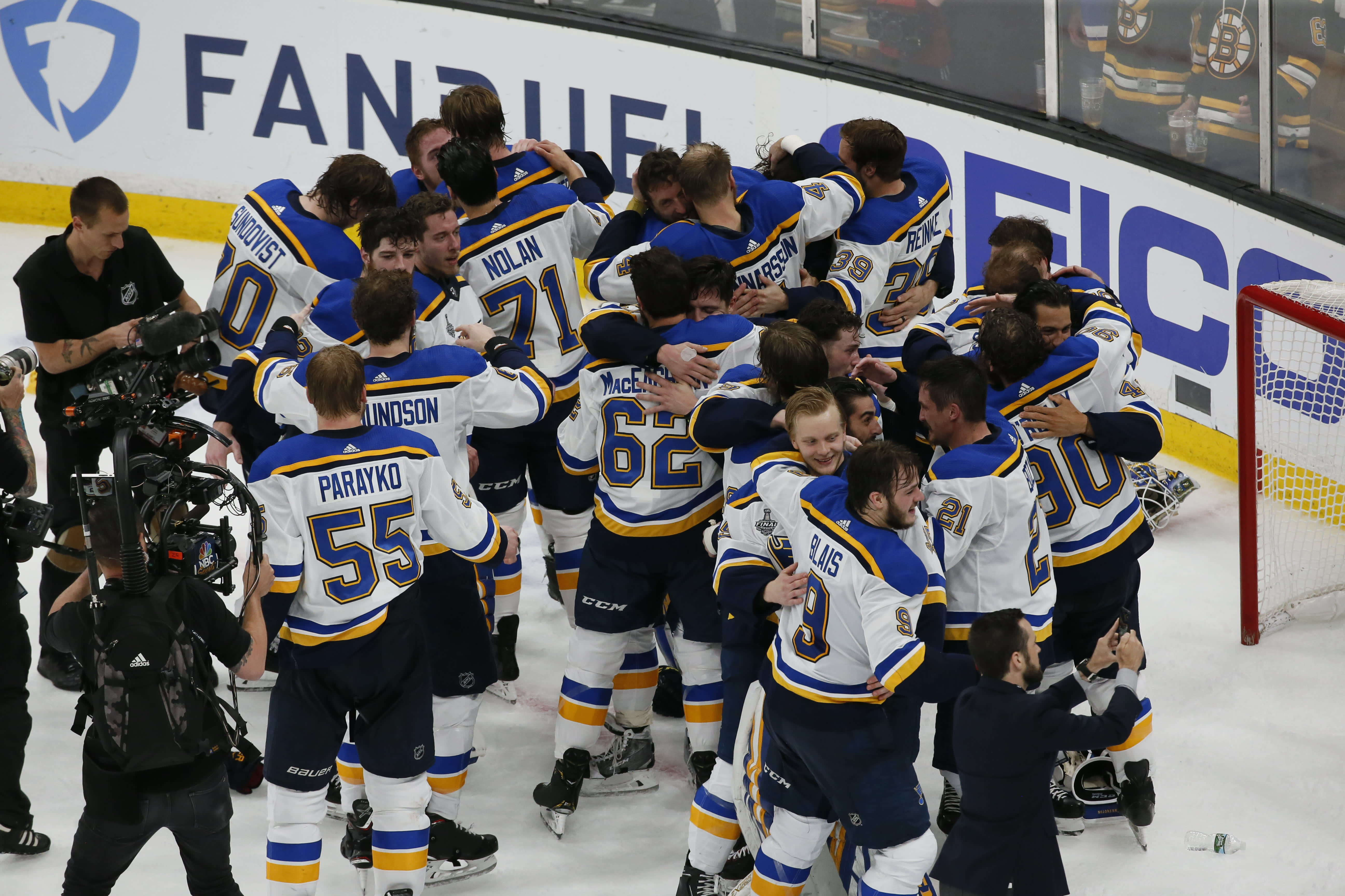 St Louis Blues beat Boston Bruins to clinch maiden NHL's Stanley Cup title