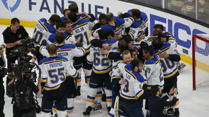 St Louis Blues Beat Boston Bruins To Clinch Maiden Nhl S Stanley Cup