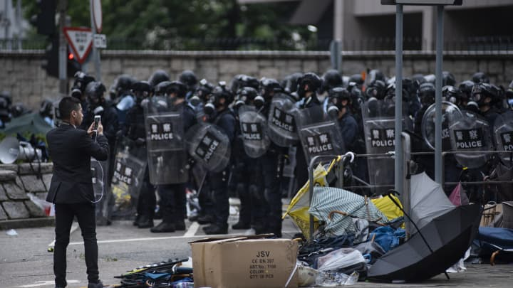 How social media is shaping what people know — and don't know — about the Hong Kong protests