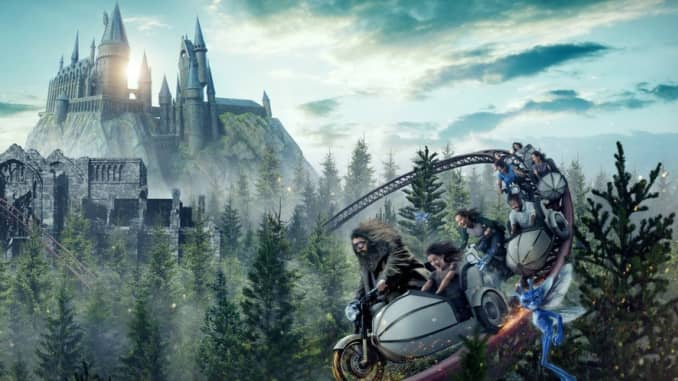 Hours long wait for Harry Potter coaster at Universal in Orlando