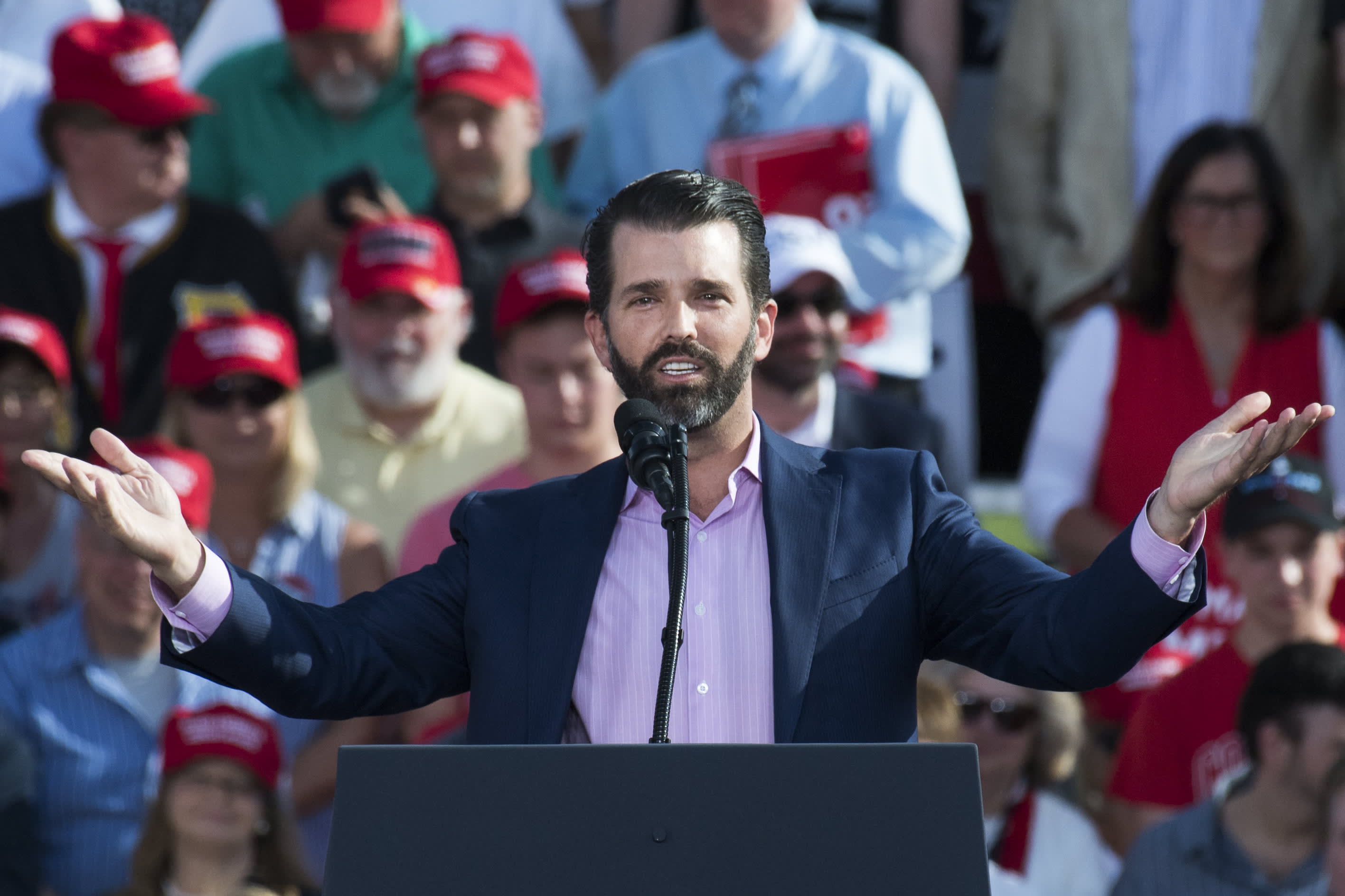Donald Trump Jr  plans to campaign against Republican Justin Amash