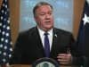 Secretary of State Mike Pompeo speaks during a media briefing at the State Department June 10, 2019 in Washington, DC.