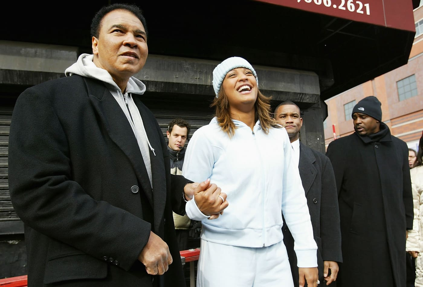 Why Laila Ali worked a minimum wage job and drove a $400 car as a teen, despite her father's success