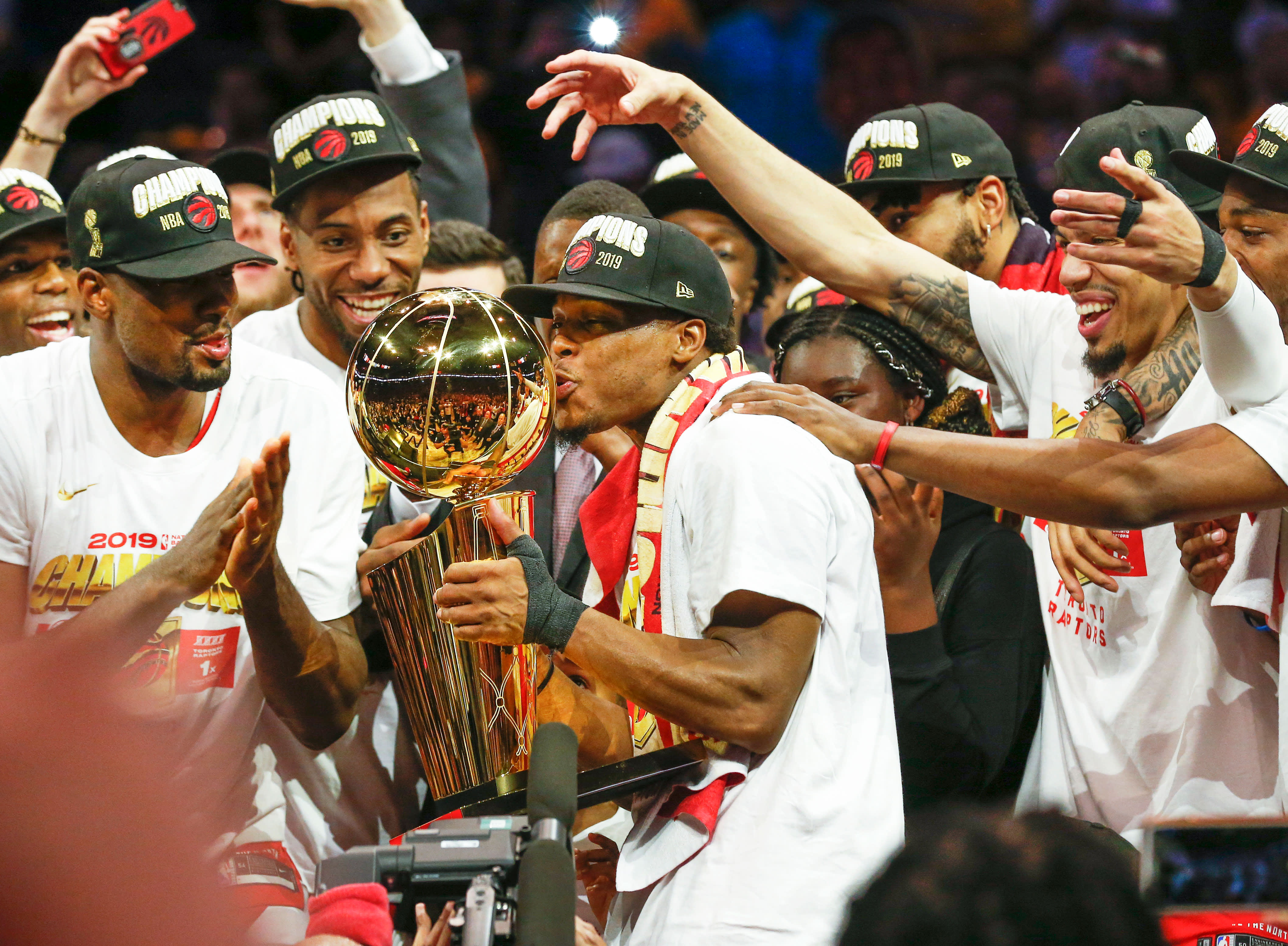 Toronto Raptors beat Golden State Warriors to win first NBA title