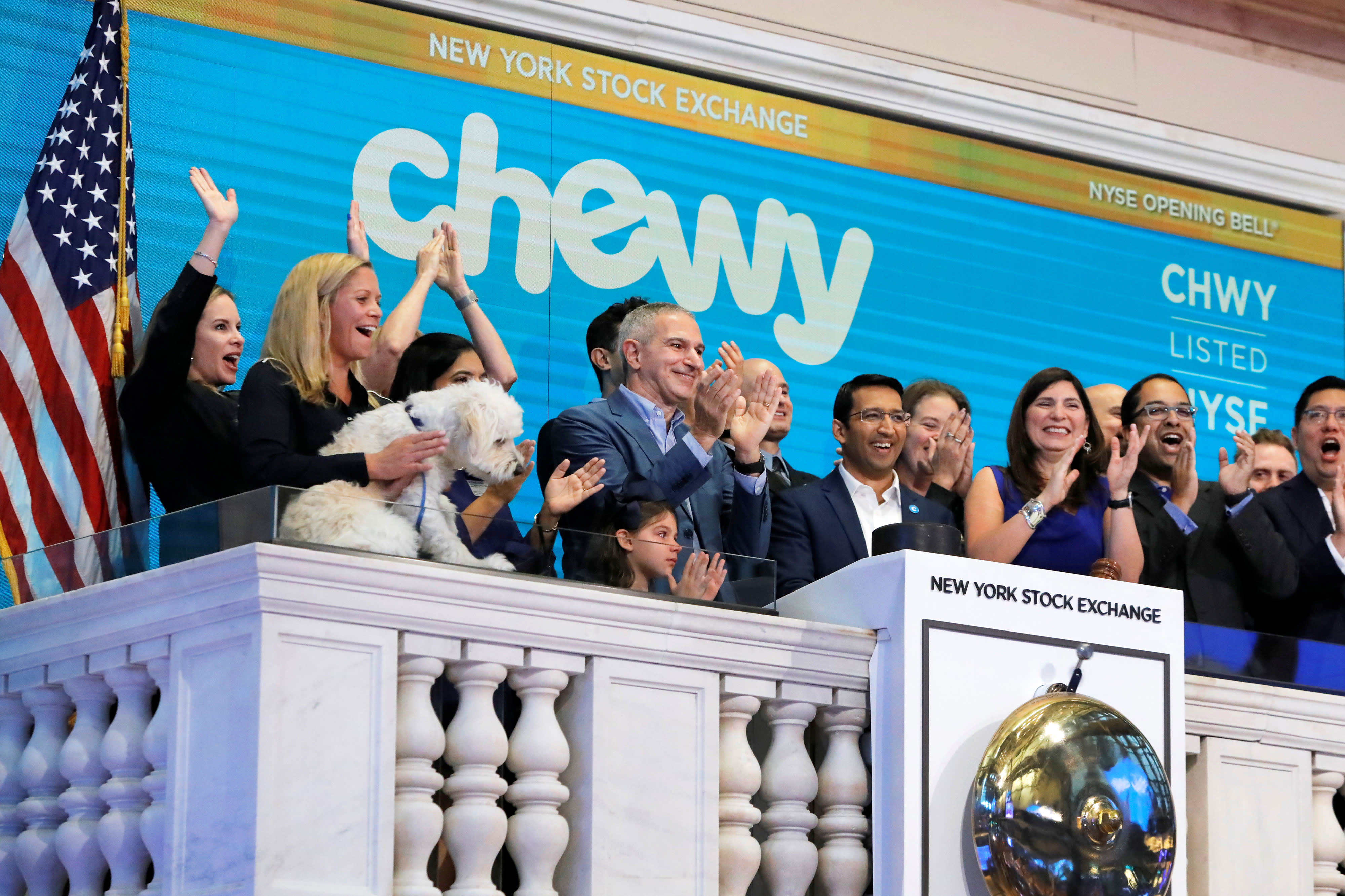 Here are the biggest analyst calls of the day: Chewy, 3M, Square & more