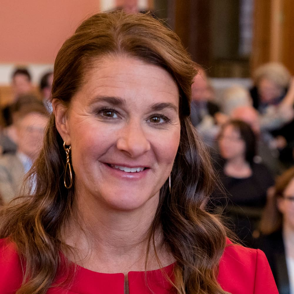 Melinda Gates shares Buffett's advice and what she and Bill won't spend on