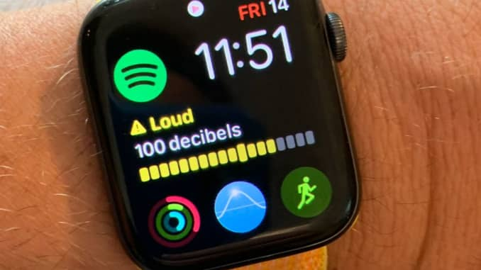 Apple Watch noise check protects your hearing