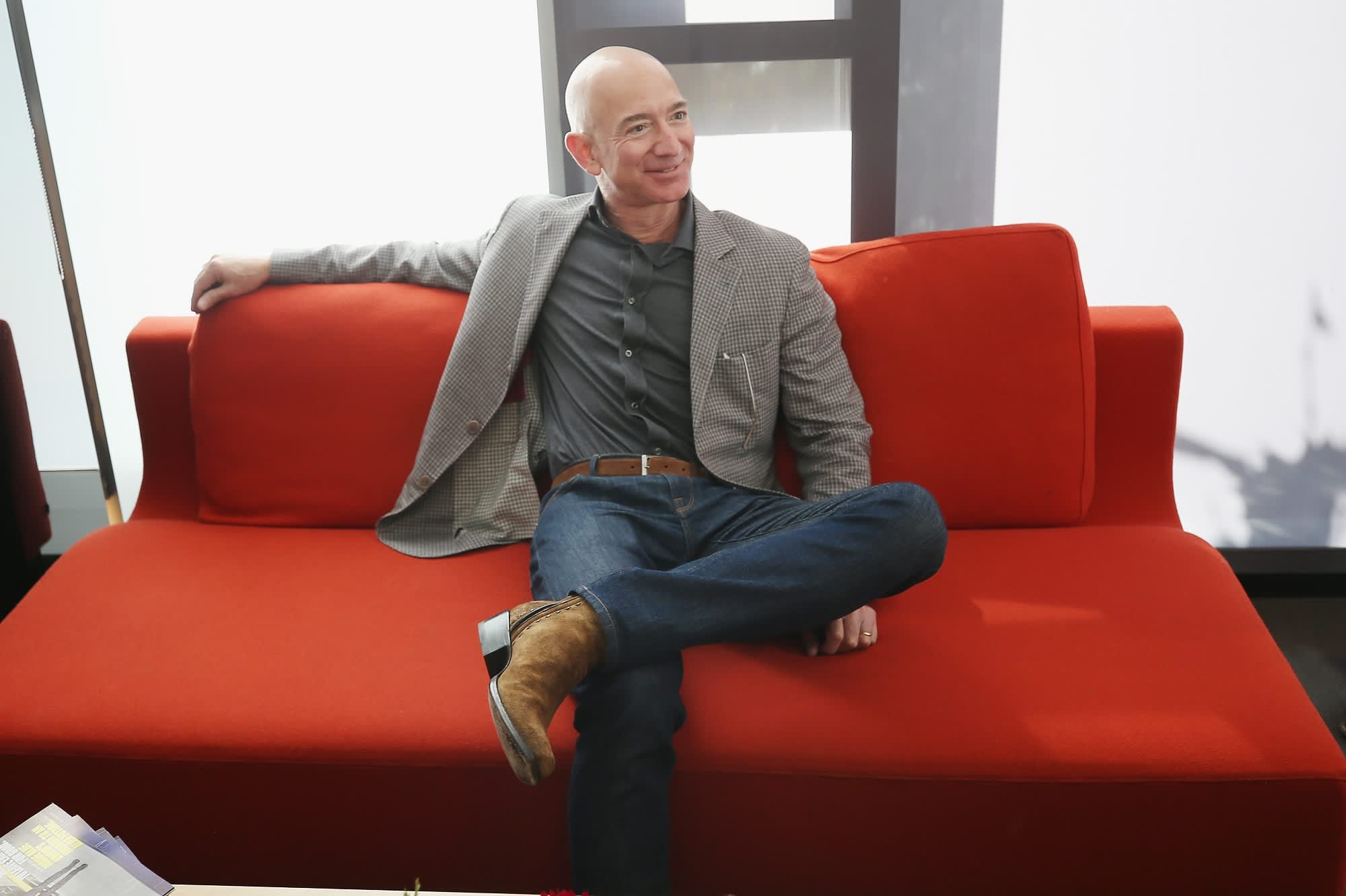 Amazon CEO Jeff Bezos has sold roughly $2.8 billion worth of stock in the last week, new filings show
