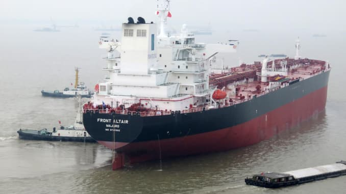 RT: Oil tanker Front Altair file photo