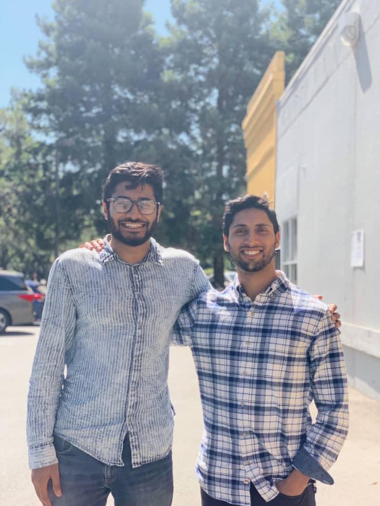 Zuhayeer Musa and Zaheer Mohiuddin
