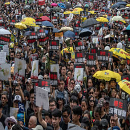 Uncertainty looms as Hong Kong protests drag into new week