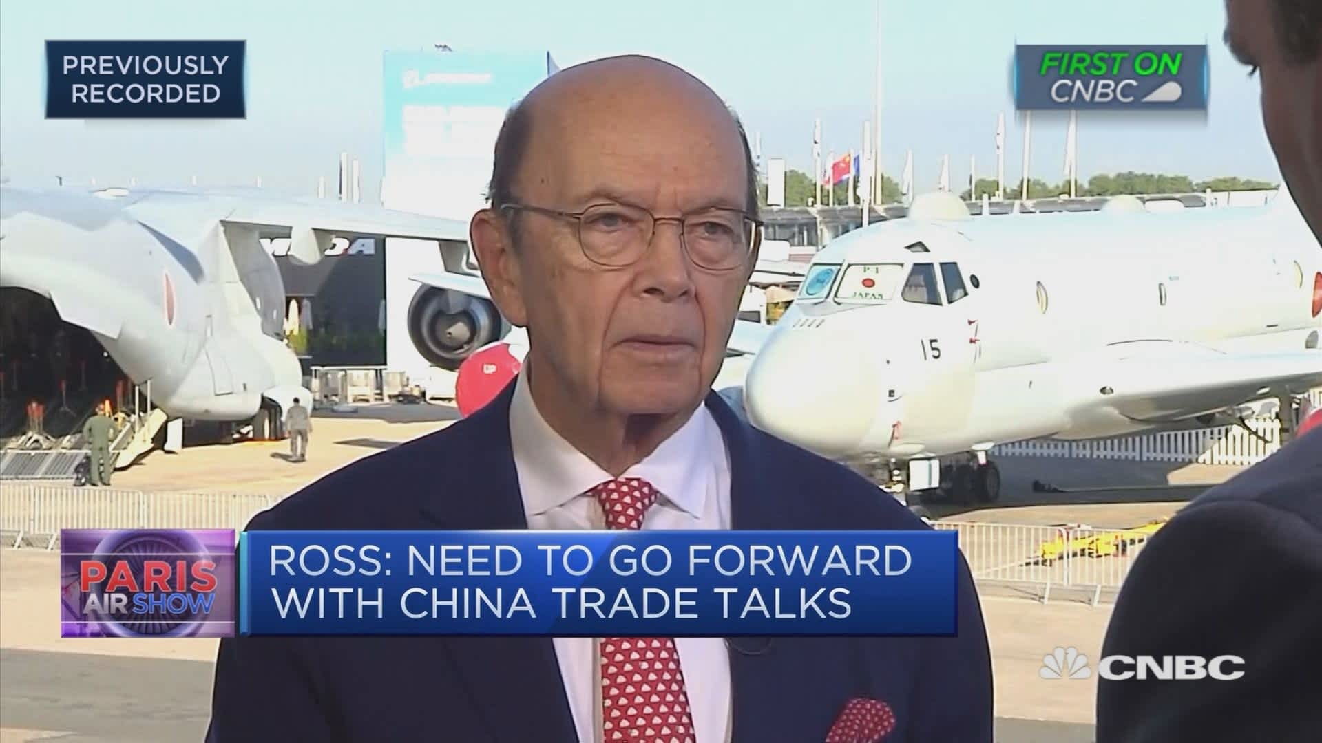 It's 'complicated to negotiate with the European Union,' Wilbur Ross says