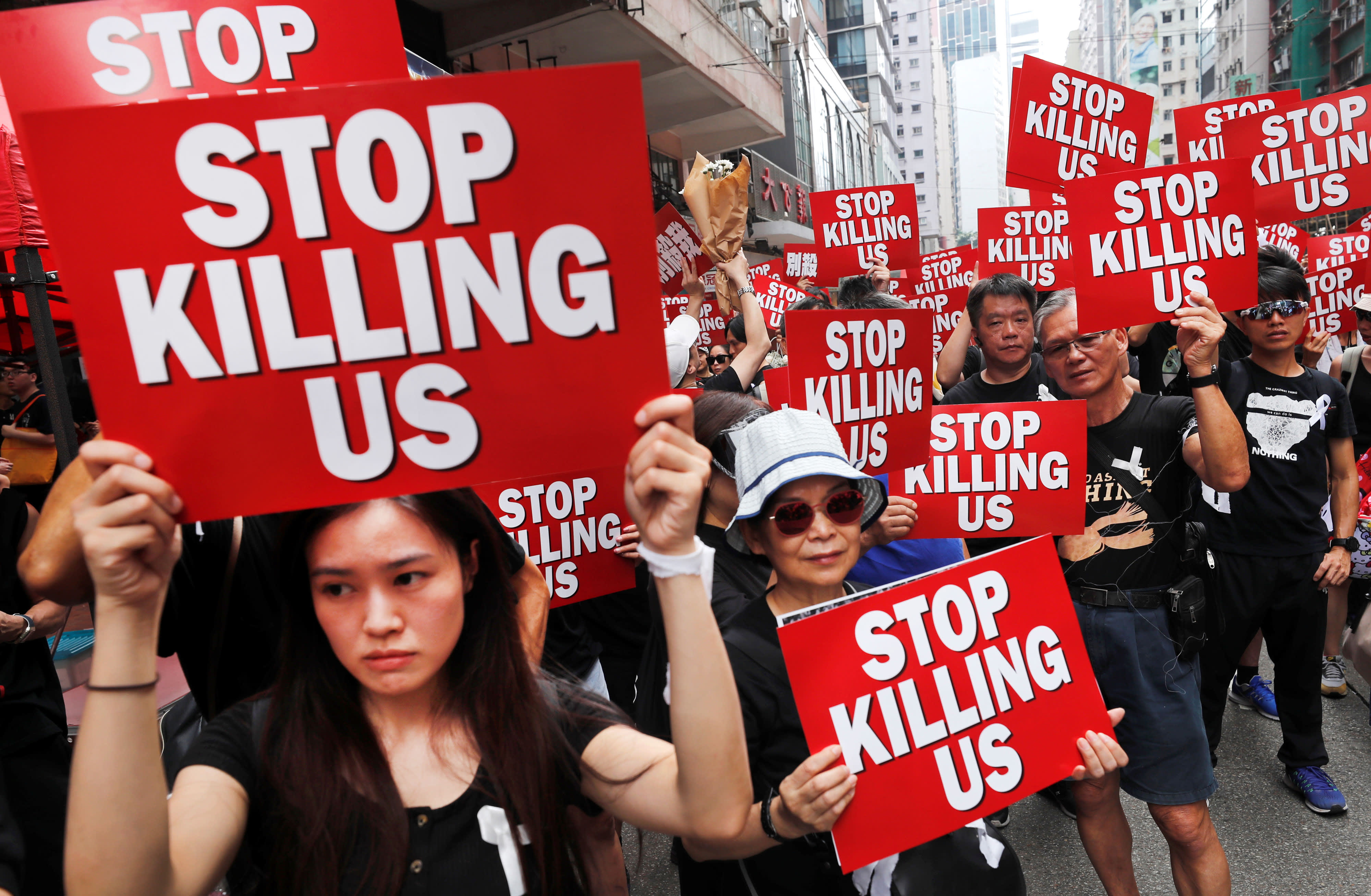 Protests in Hong Kong continue over China extradition bill
