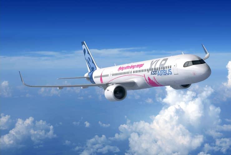 H/O: Airbus A321XLR