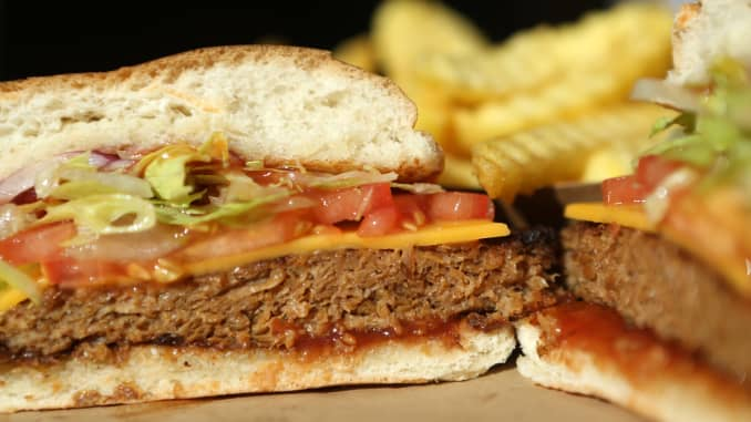 Are Beyond Meat's burgers healthier than red meat