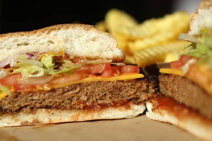 GP: Meatless Burgers Gain In Popularity