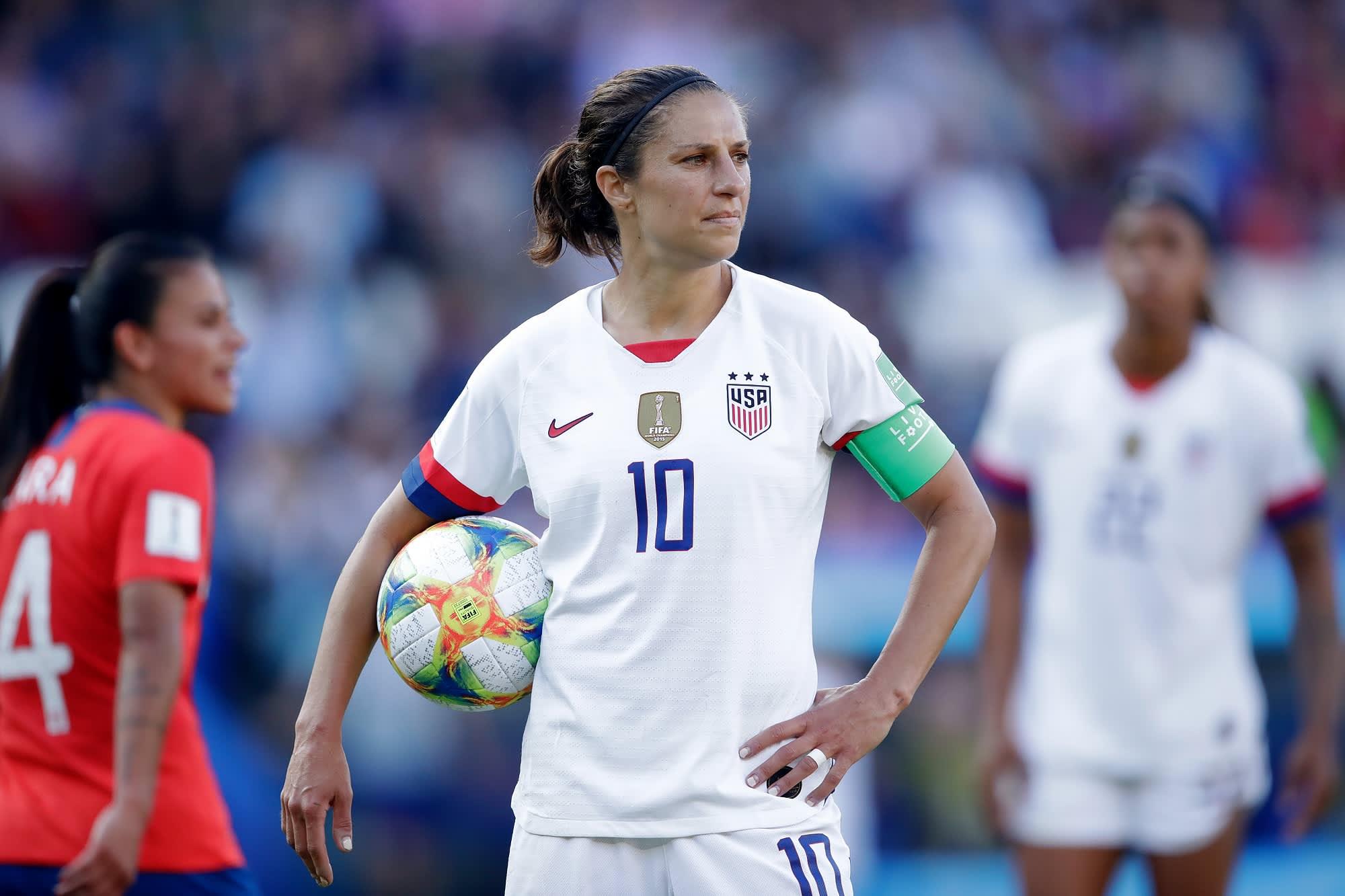 USMNT 2016 USA WOMEN/'S STADIUM HOME SOCCER JERSEY