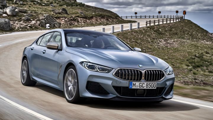 BMW debuts 4-door, 8-Series Gran Coupe with an entry price around $86,000