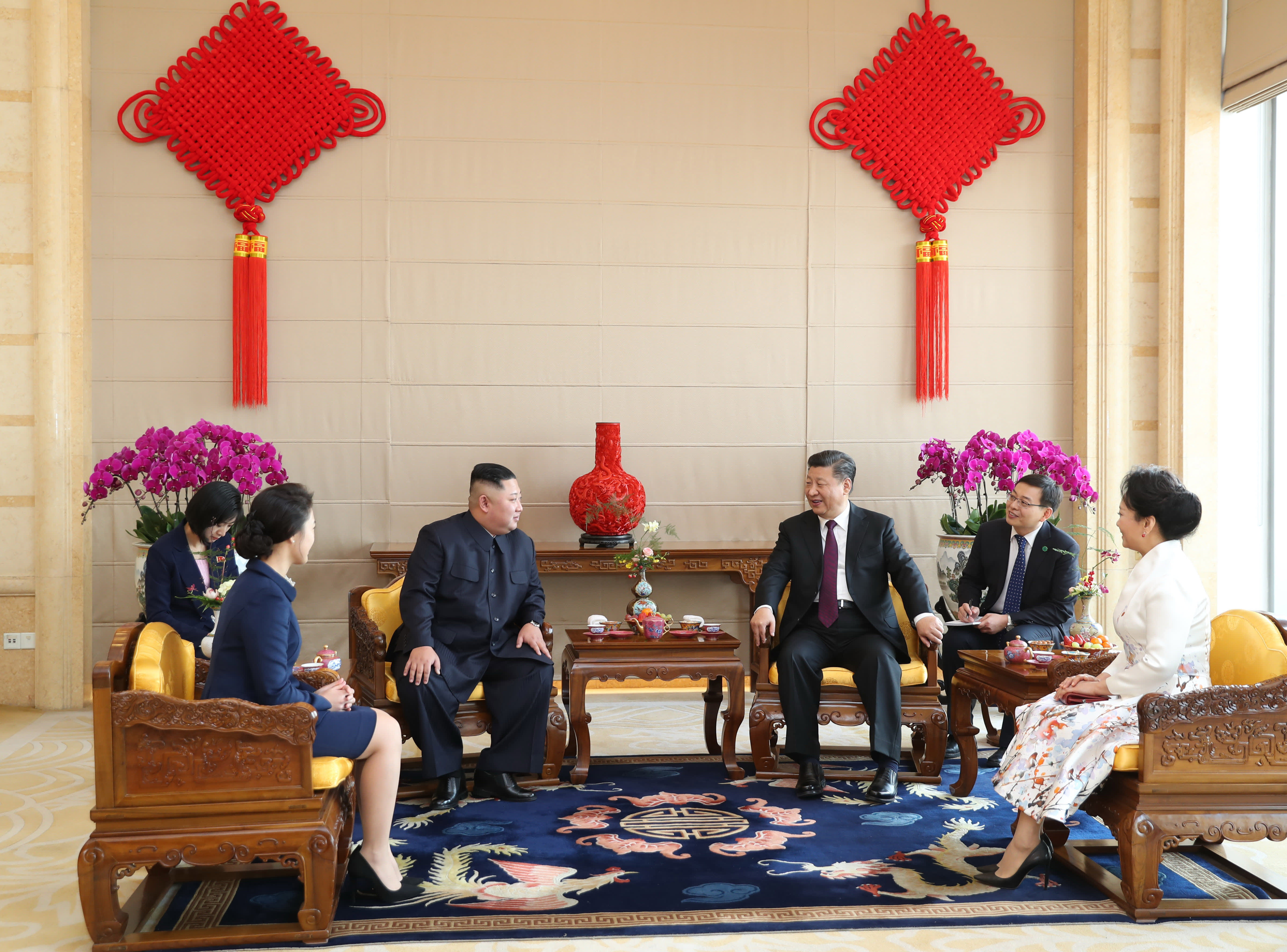Ahead of a visit to North Korea, China's Xi says he supports denuclearization