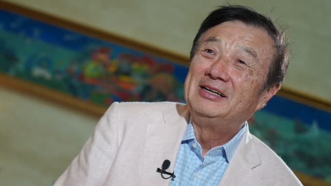 CNBC: Huawei Ren Zhengfei 1