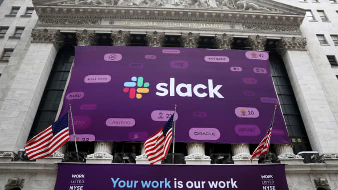 Stocks making the biggest moves after hours: Slack, Cloudera
