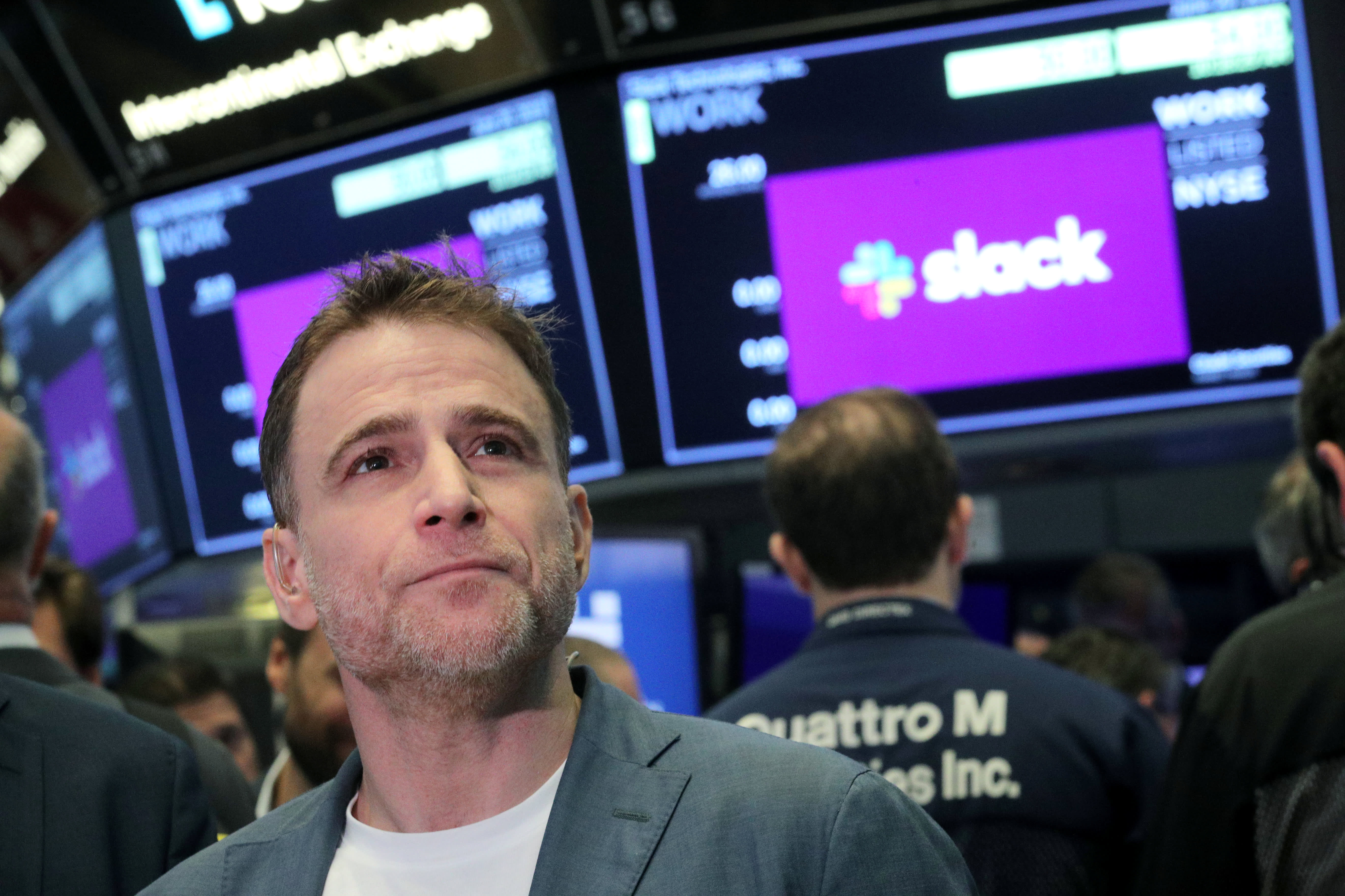 Slack shares surge more than 50% over reference price in market debut