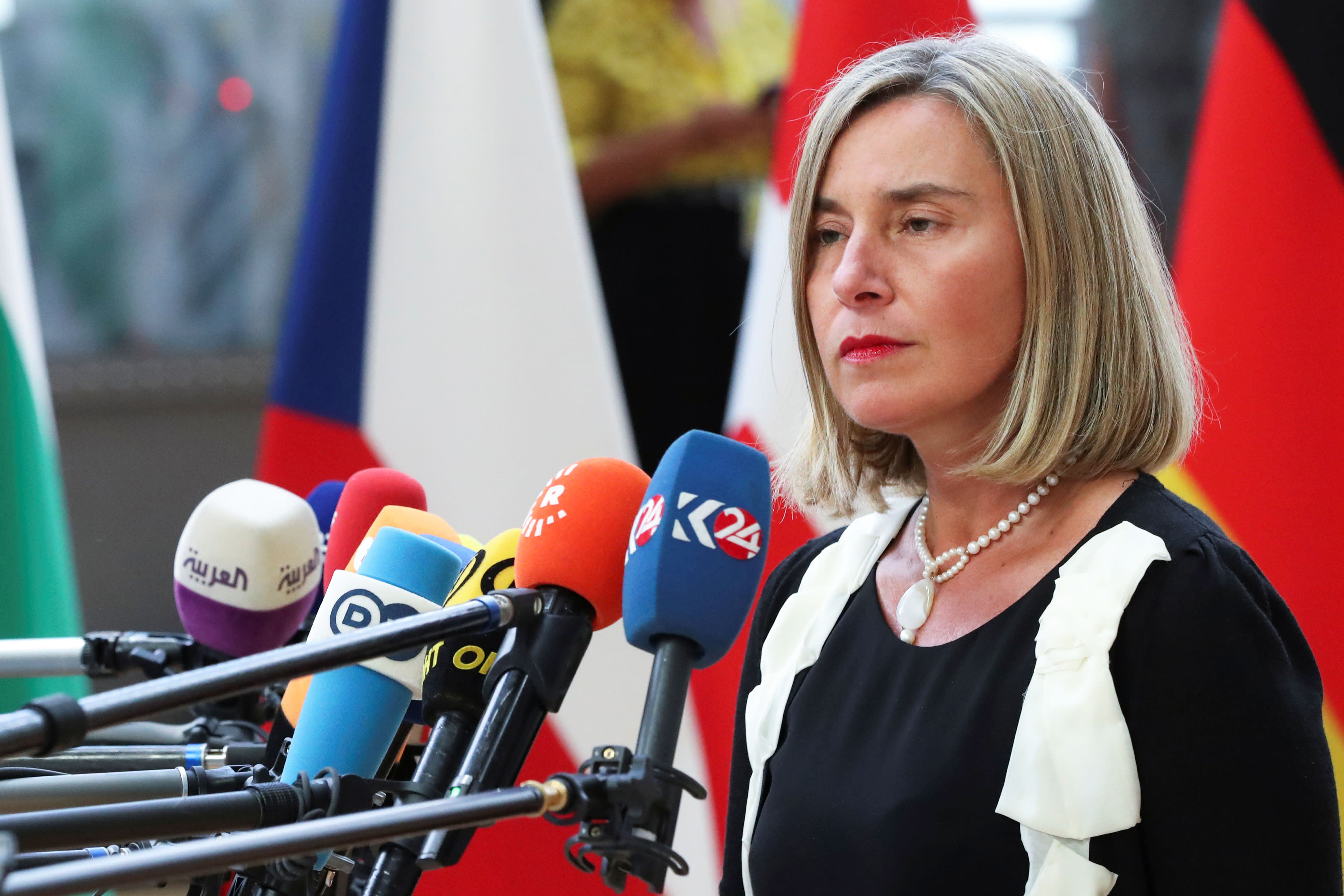 EU top diplomat says Europe will try to make sure 'escalation is avoided' between US, Iran