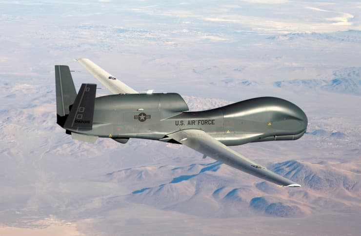 RT: RQ-4 Global Hawk unmanned aircraft