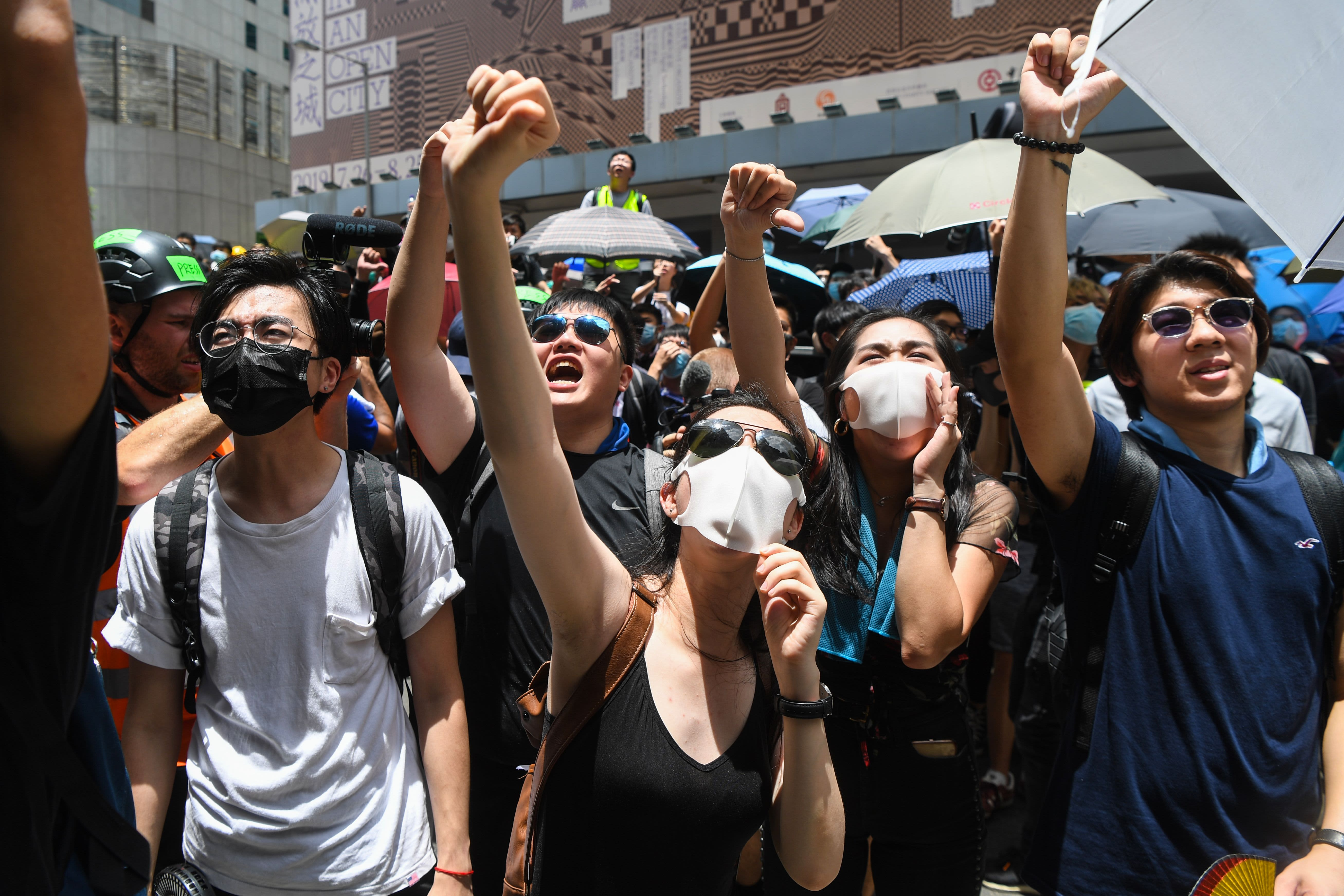 Its Not Just Demonstrators Saying >> China Extradition Bill Hong Kong Protesters Demand Carrie Lam Quit