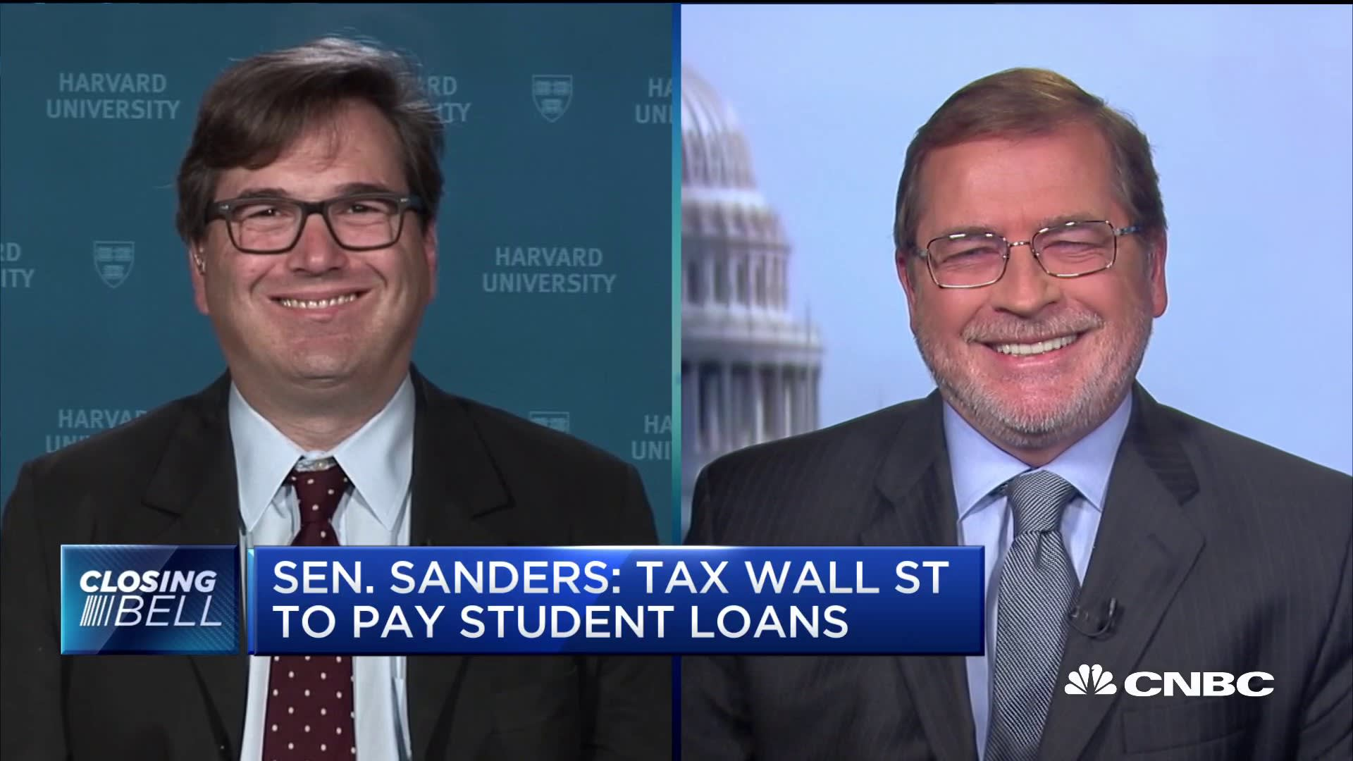Anti-tax advocate Grover Norquist says Sanders' student debt plan 'doesn't get to the problem'