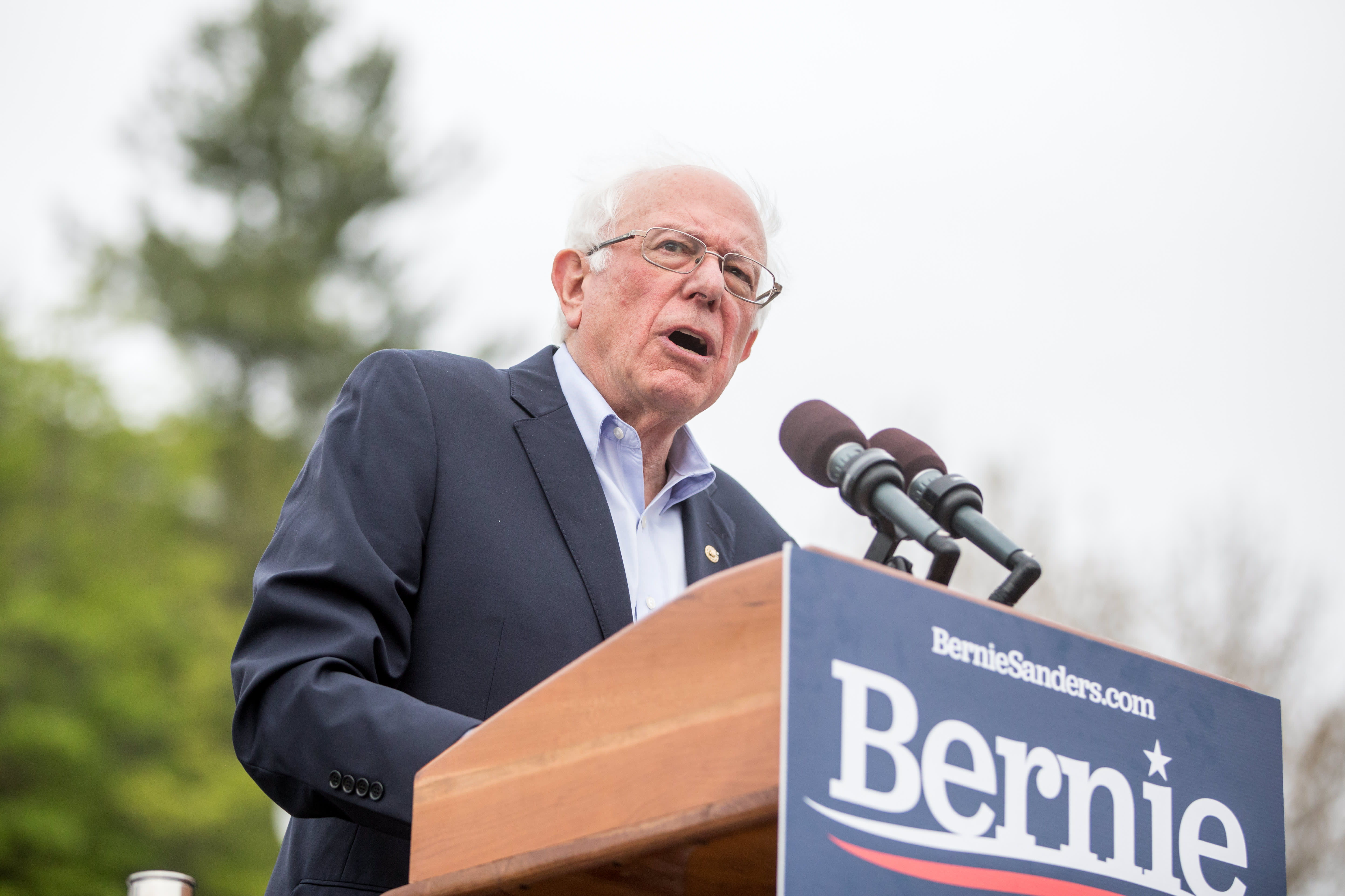 Bernie Sanders faces backlash over war machine he brought to Vermont