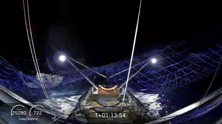H/O: SpaceX Nosecone catch 190625 EC