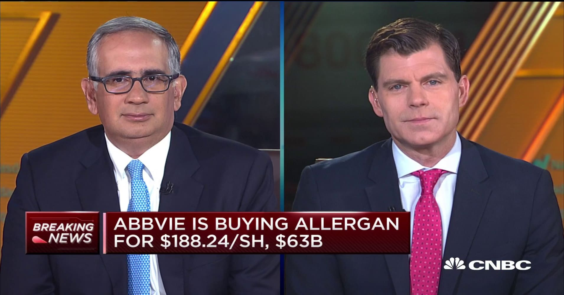 AbbVie is nearing a deal to buy Allergan for more than $60 billion: WSJ
