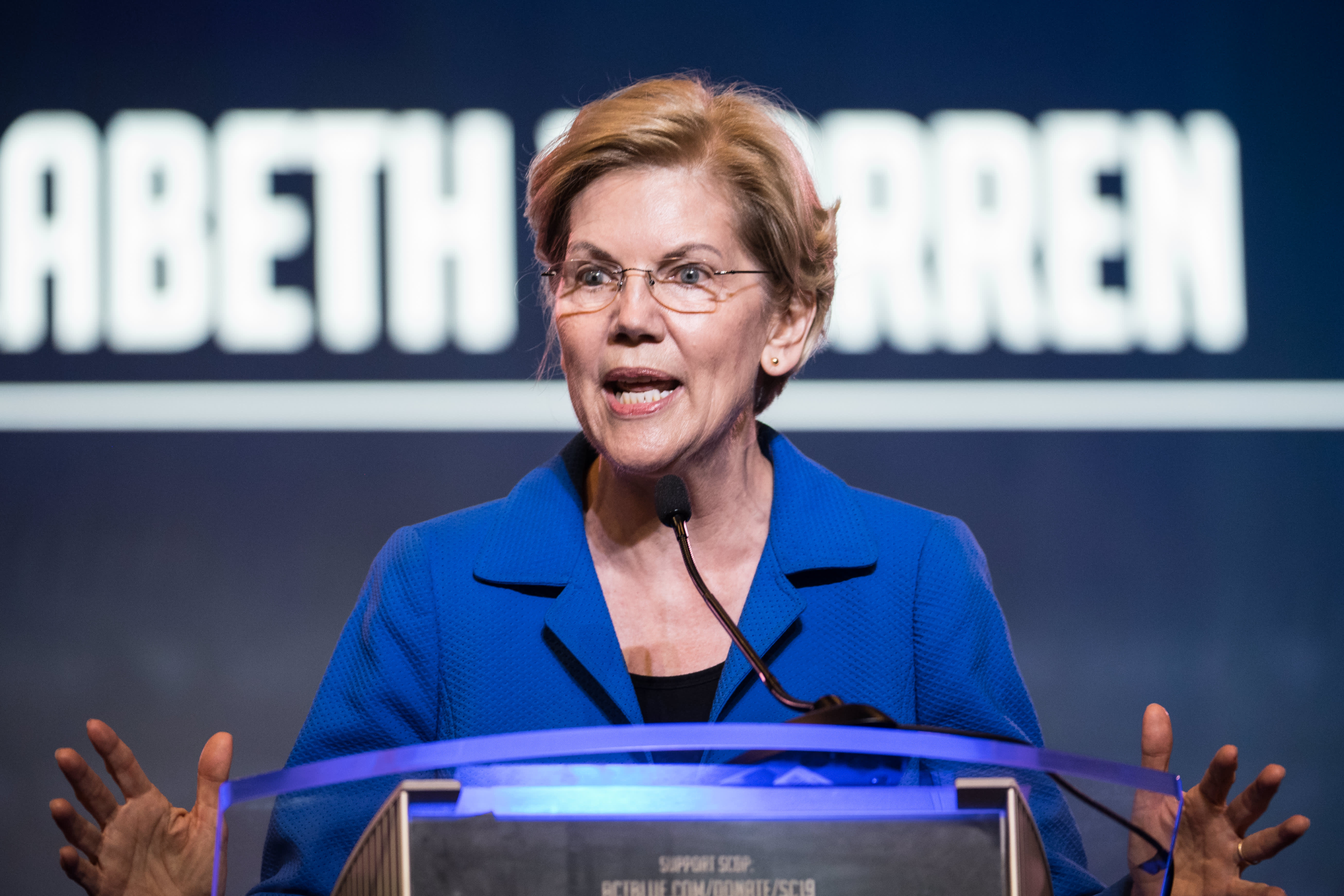 Elizabeth Warren proposes sweeping increase in Social Security benefits, financed by wealth taxes