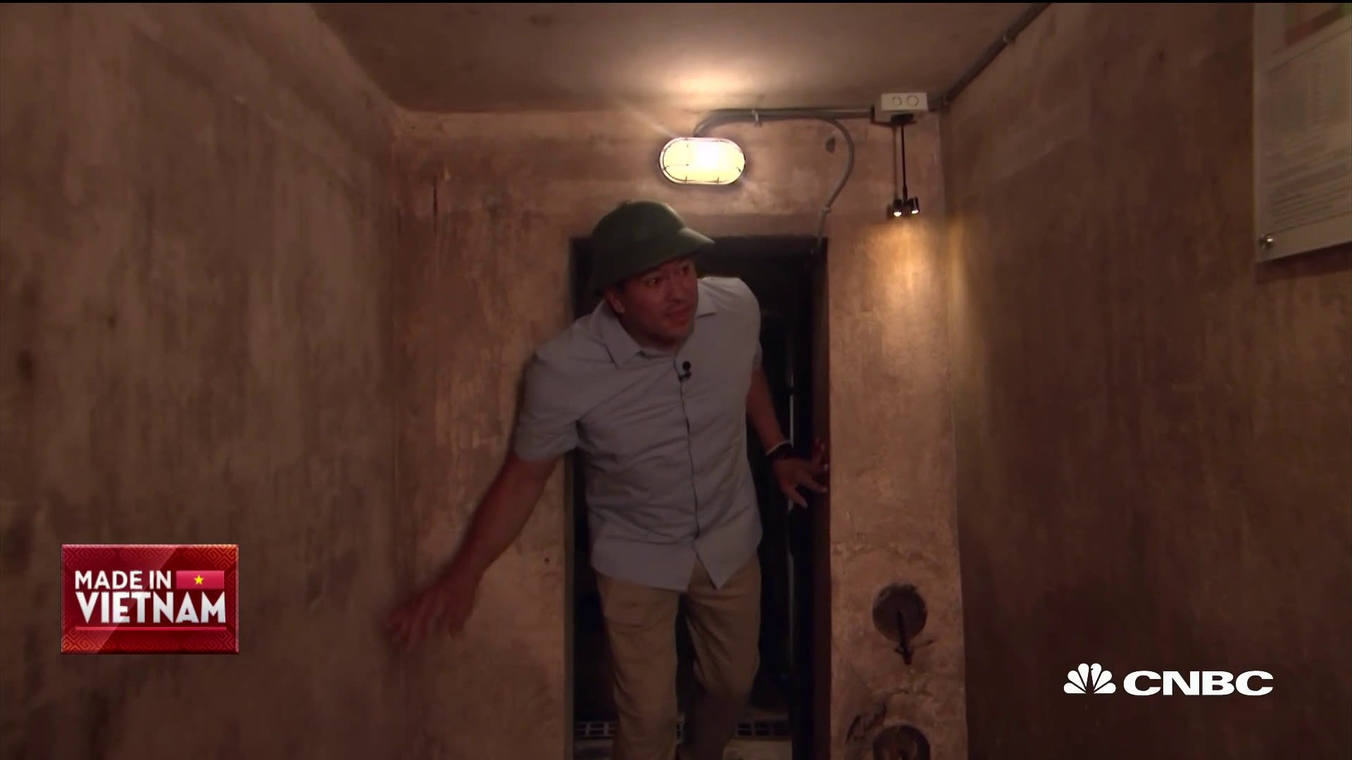 Go inside the secret Vietnam War bomb shelter found in the bowels of Hanoi's oldest hotel