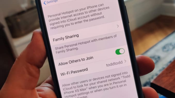 CNBC Tech: Family hotspot in iOS 13