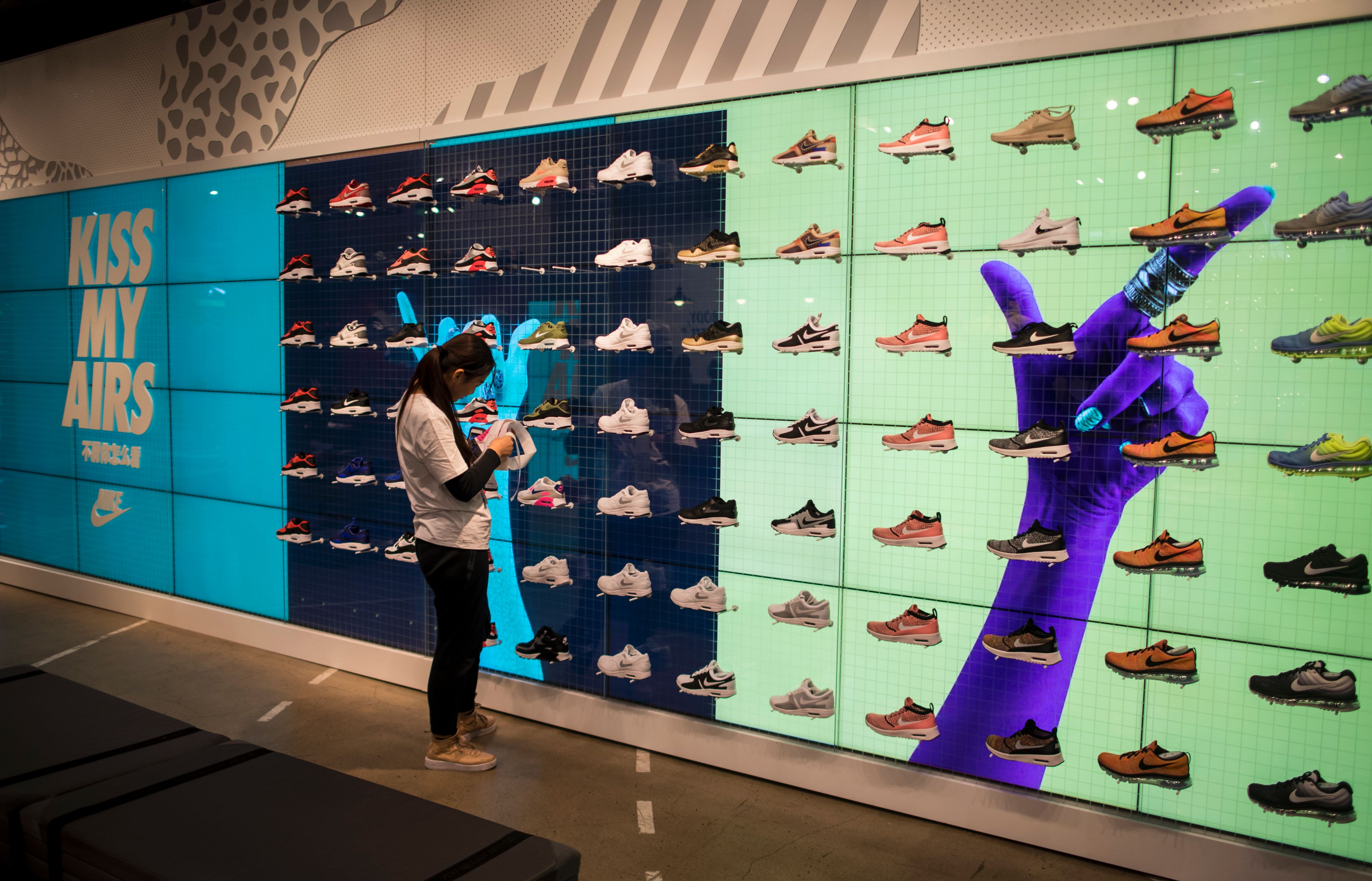 Nike reportedly pulled a shoe line from China after its designer supported Hong Kong protests
