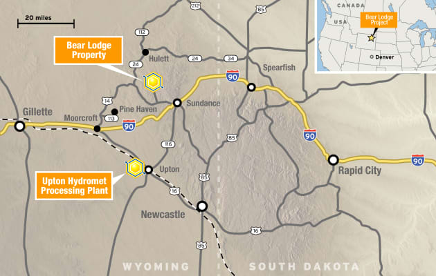H/O: Bear Lodge mining Rare Element project Wyoming