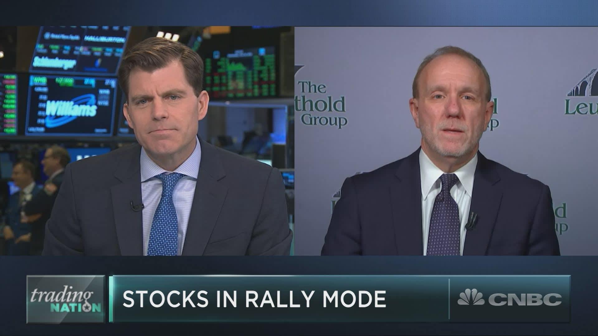 Something is happening in the market that long-time bull Jim Paulsen hasn't seen before
