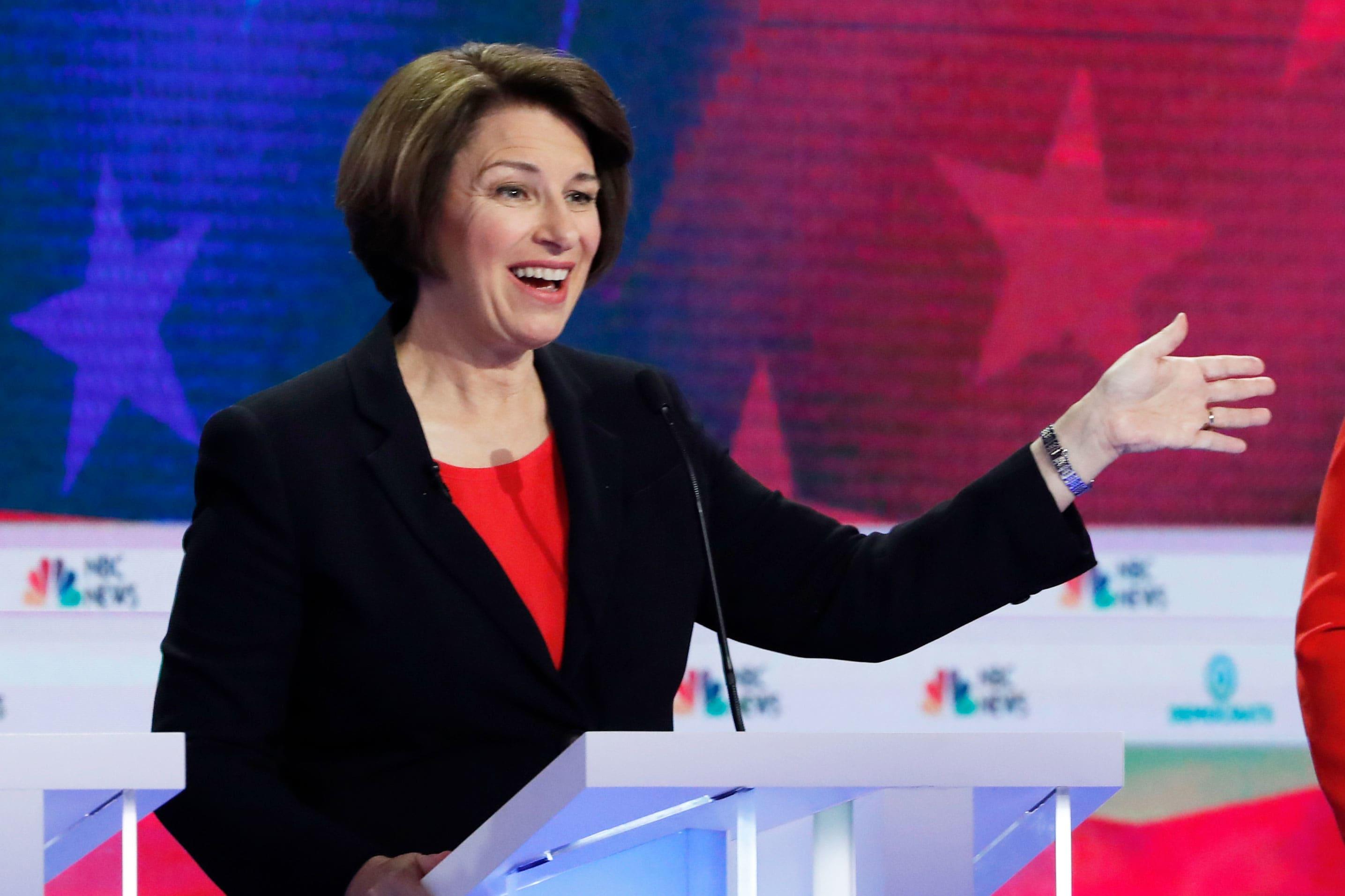 Debate fact check: Firm says Sen. Klobuchar overstates Trump's lack of success lowering drug prices