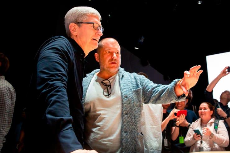 GP: Jonathan Ive and Tim Cook, Apple 190603