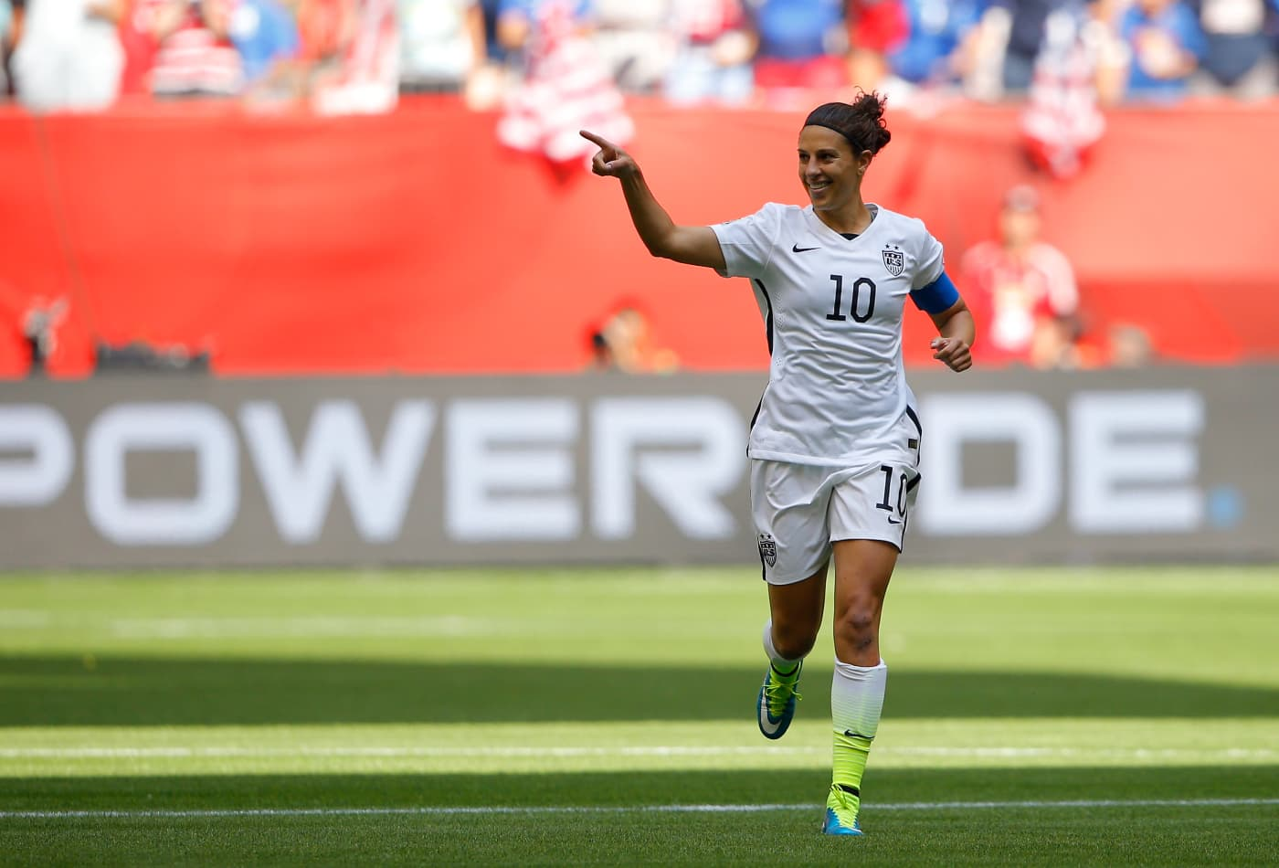 Us Soccer Star Carli Lloyd Was Once Told That She Wasn T Good Enough
