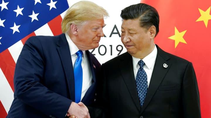 Trump says China's leader Xi Jinping has acted 'very responsibly' on Hong Kong protests