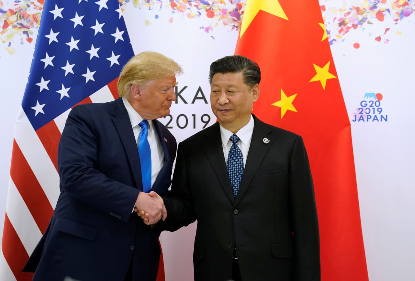 Trump says he agreed with Xi to hold off on new tariffs and to let Huawei buy US products