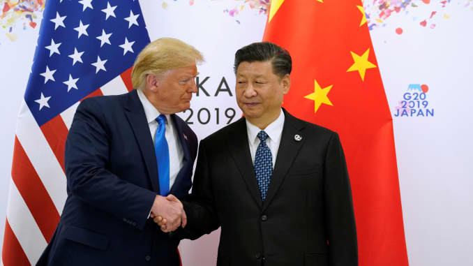 RT: Trump Xi Japan G20 190629 EC