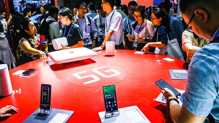 ZTE, China Tower, telco stocks set to benefit from China's 5G push